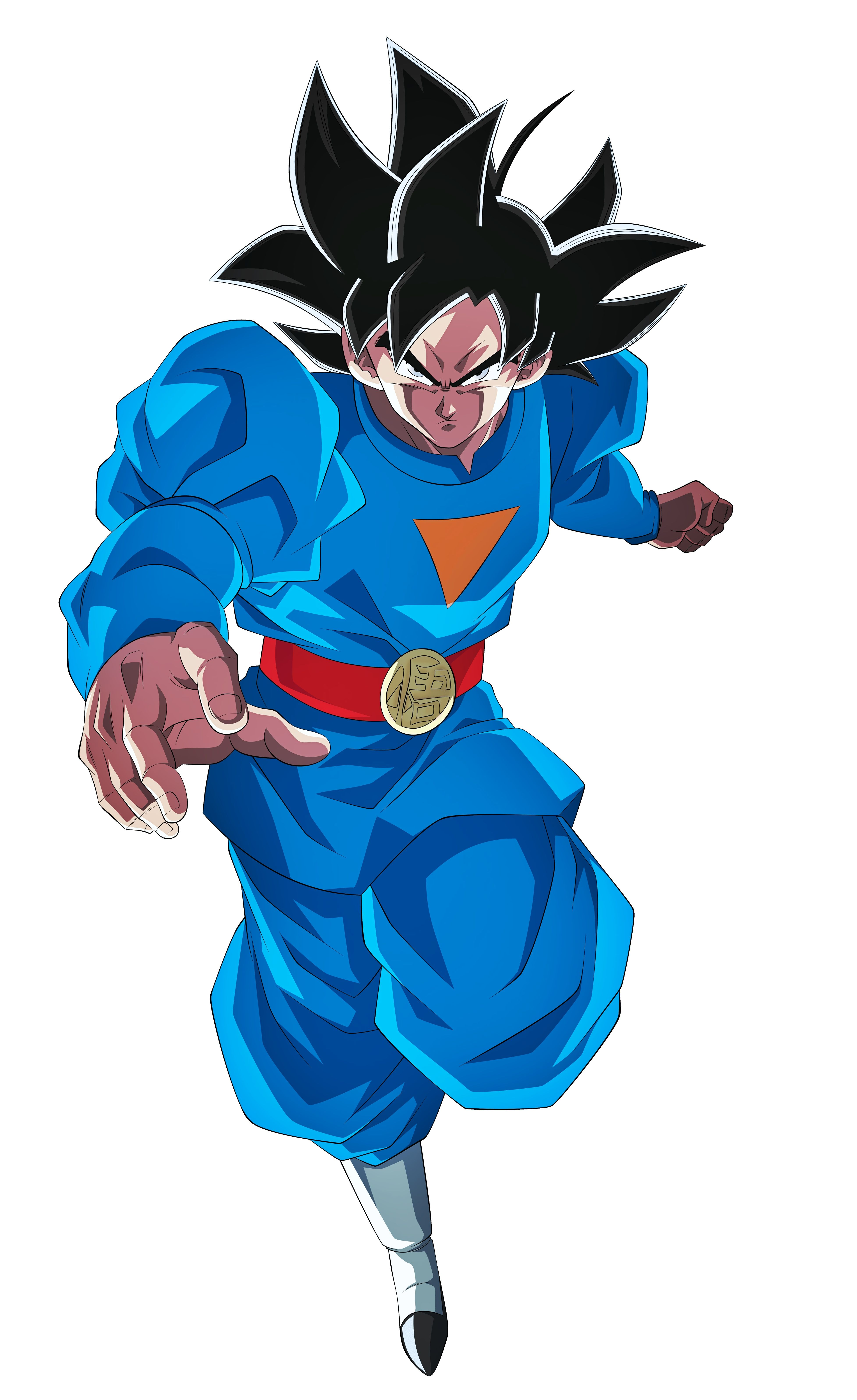Goku Ultra Instinto (Universo 7) Anime dragon ball super