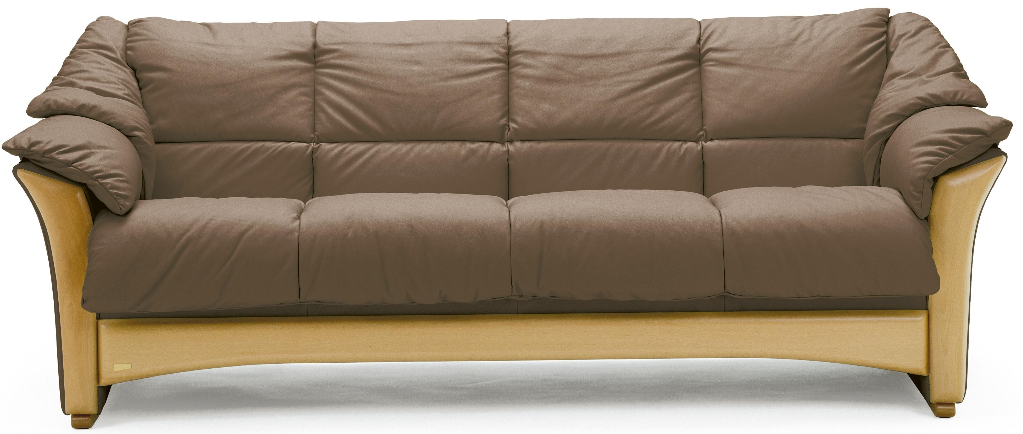 Stressless By Ekornes Furniture: Oslo Collection Sofa In 3 And 4 Seat  Leather Versions.