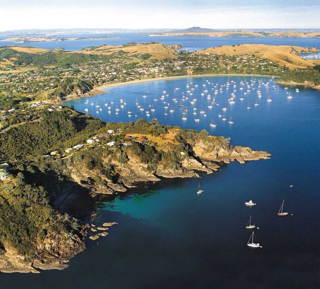 Waiheke Island Hauraki Gulf NZSome good anchorages on the north