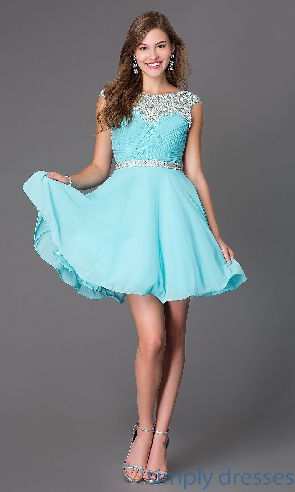 Homecoming Dresses, Formal Prom Dresses, Evening Wear: PO-7240 ...