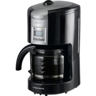 Morphy Richards 47049 Graphite Filter Coffee Maker Black At Argos Co Uk