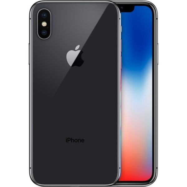 9a3960e0f71259 Refurbished Apple iPhone X 64GB Space Gray LTE Cellular Straight Talk/TracFone  MQA52LL/A - TF