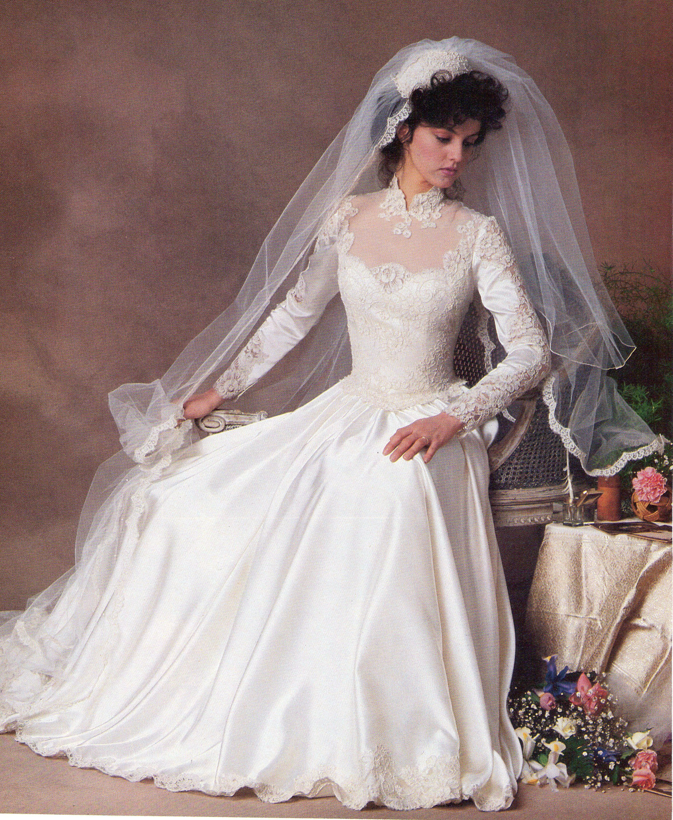 Pin By N Loren On 80'S AND 90'S BRIDAL WEDDING FASHION