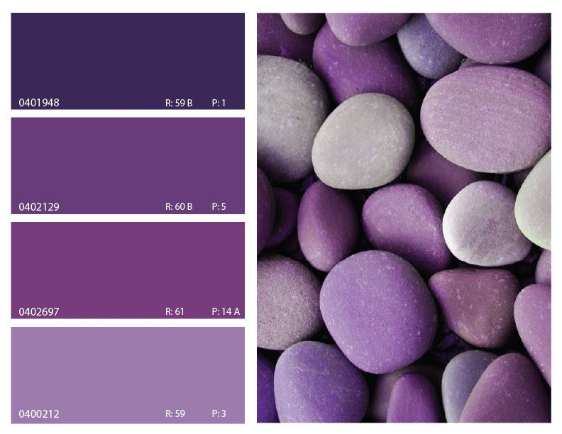 Purple color combination purple color palette purple for Paint color spectrum