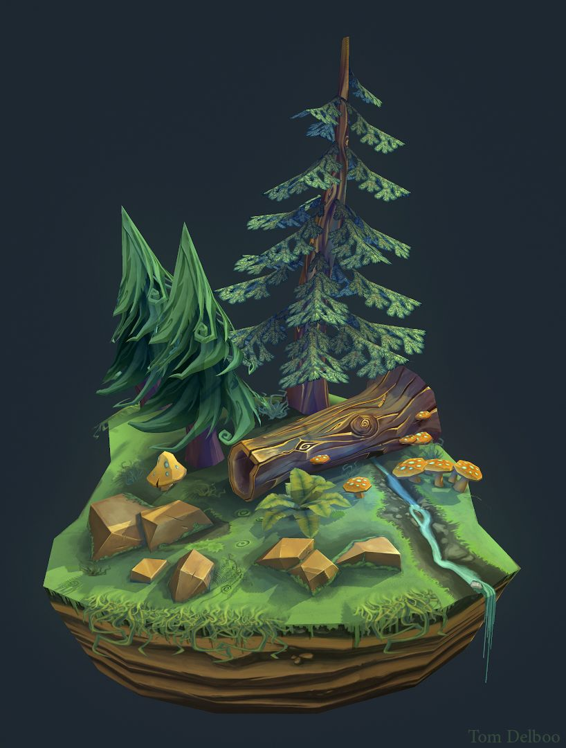 Image result for low poly small environment
