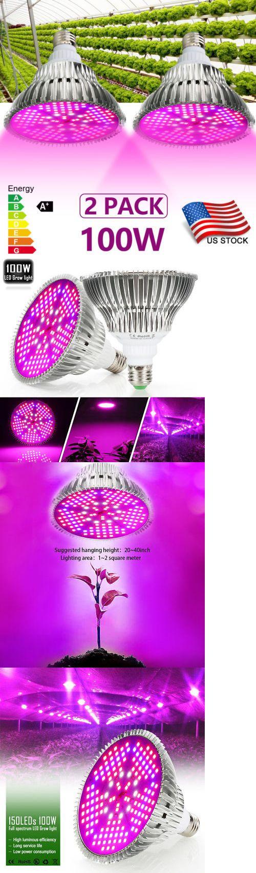 Grow Light Kits 178989 100w E27 Full Spectrum Led Grow Light Grow Lamp Bulb For Flower Plant Hydroponic Buy It Now Led Grow Lights Grow Lights Hydroponics