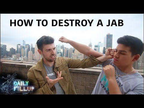 3 Ways to DESTROY a boxing Jab - Wing Chun - YouTube