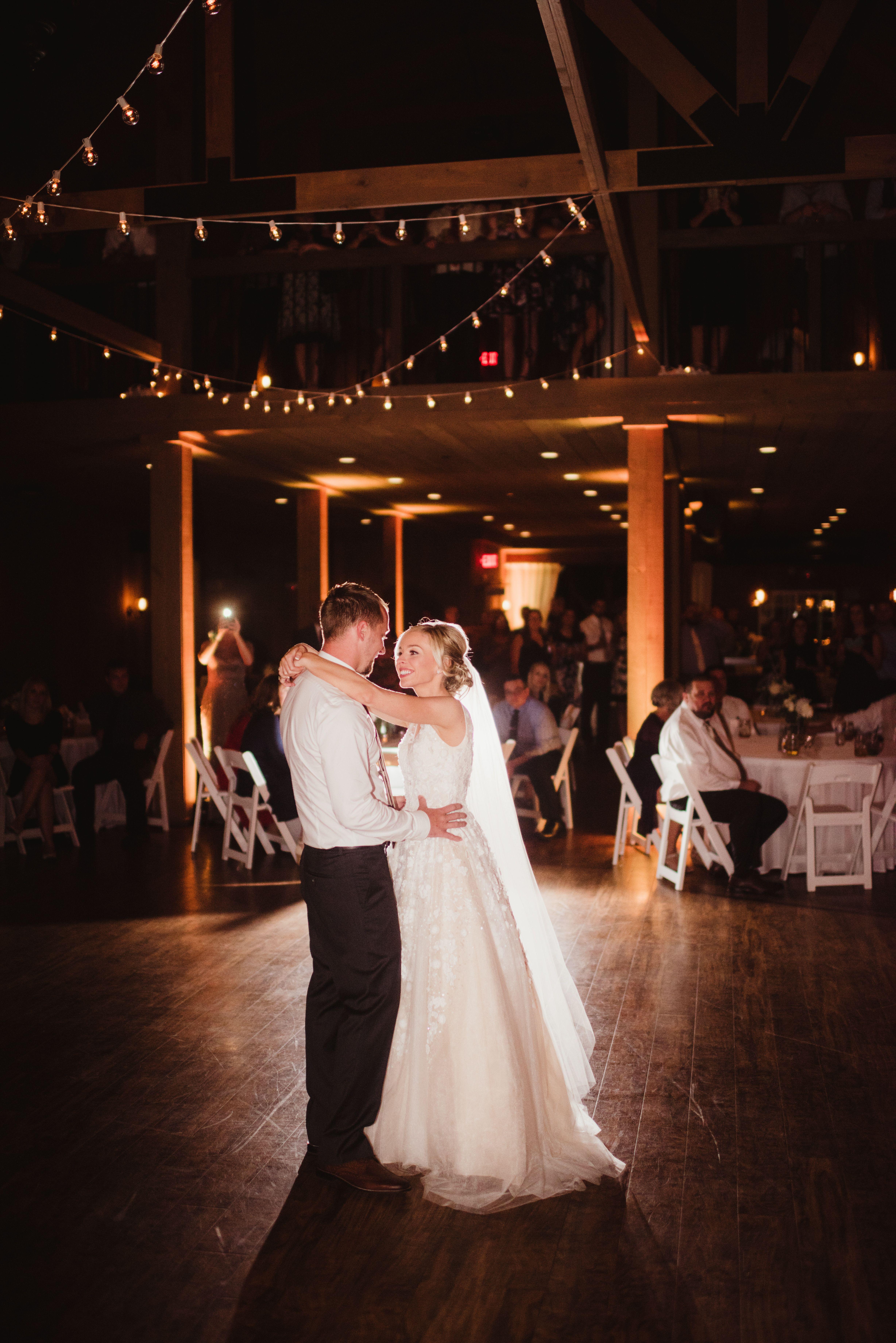 Rustic Wedding Wisconsin Barn Wedding First Dance