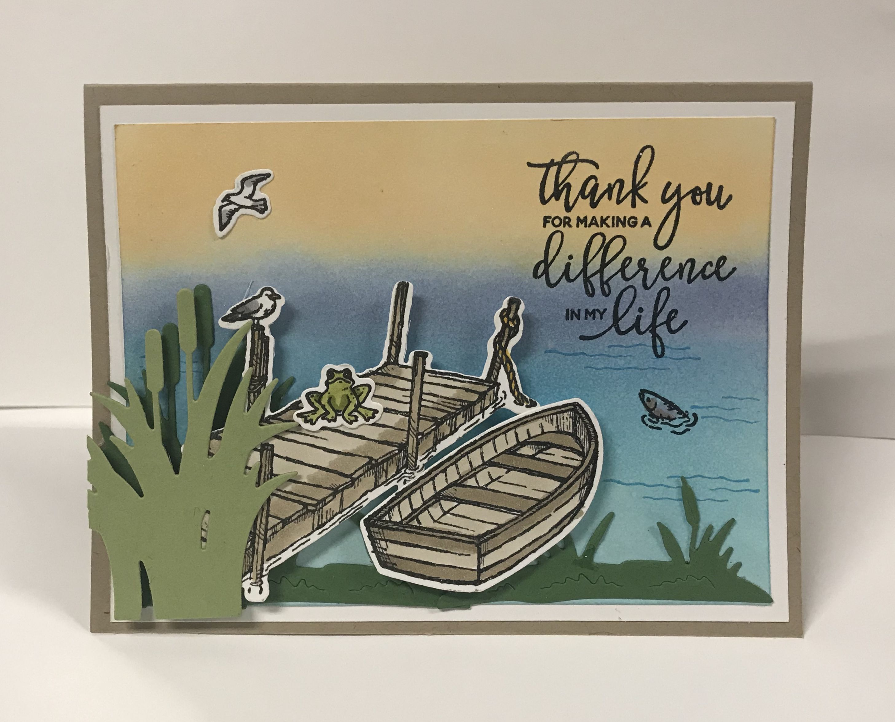 Stampin Up By The Dock Stampin Up Birthday Cards Stamped