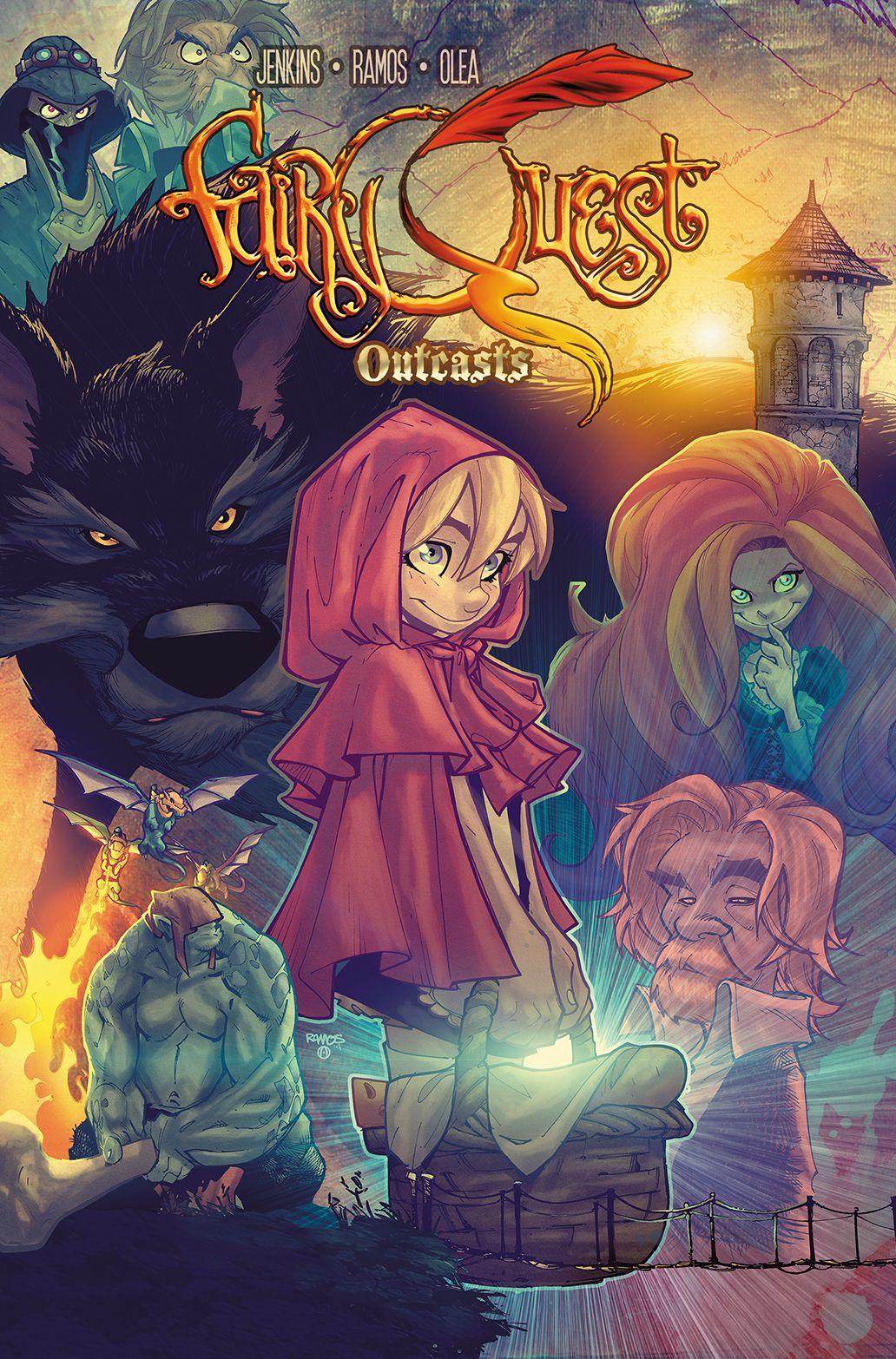 Fairy Quest Outcasts Tpb Humberto Ramos Anime Marvel Comics
