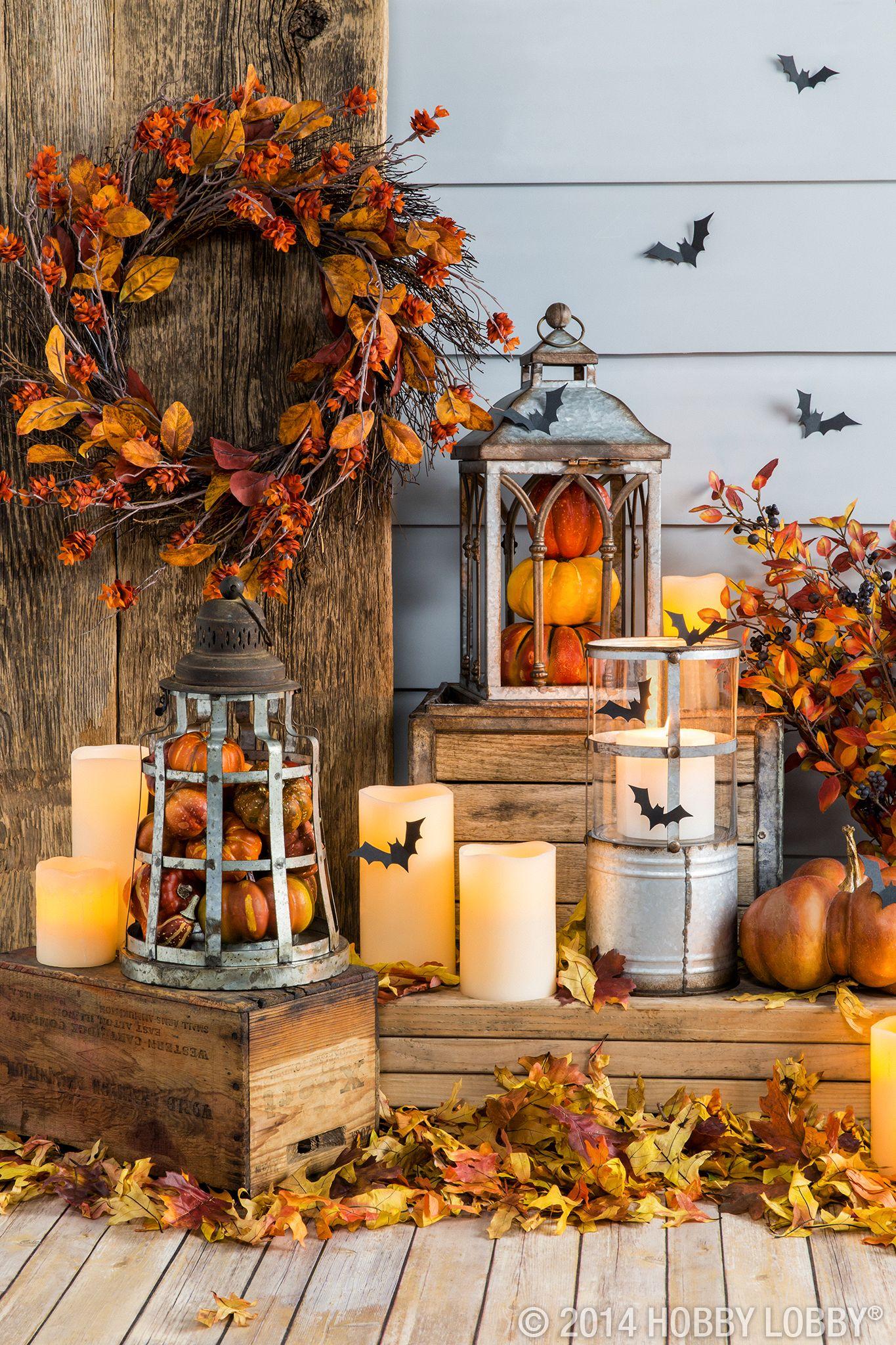 fall decorations on pinterest