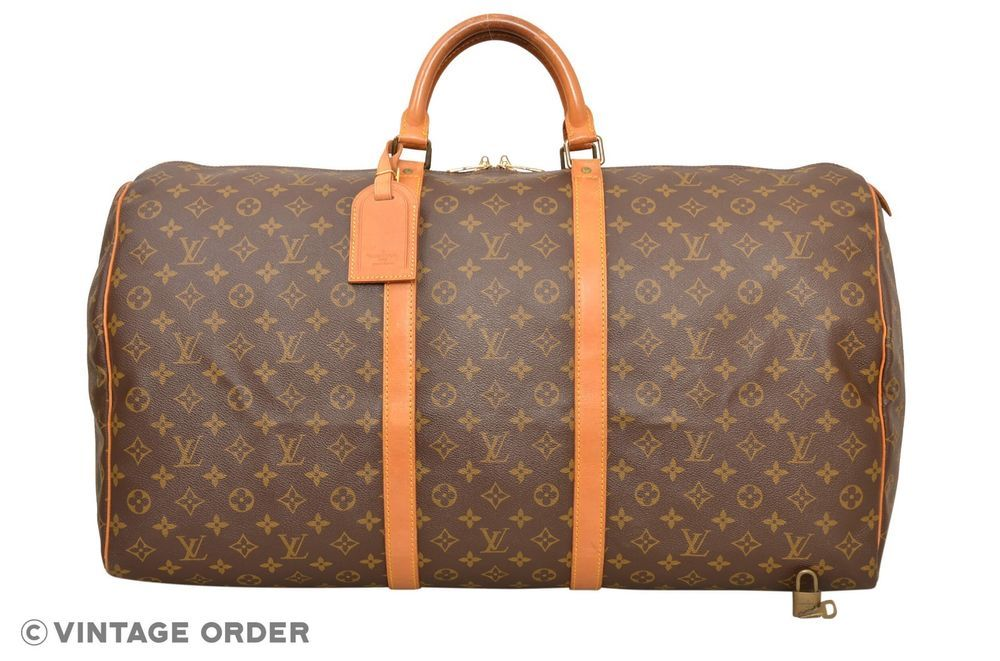 6423d5b9ced6 Louis Vuitton Monogram Keepall 60 Travel Bag M41422 - E02054  fashion   clothing  shoes