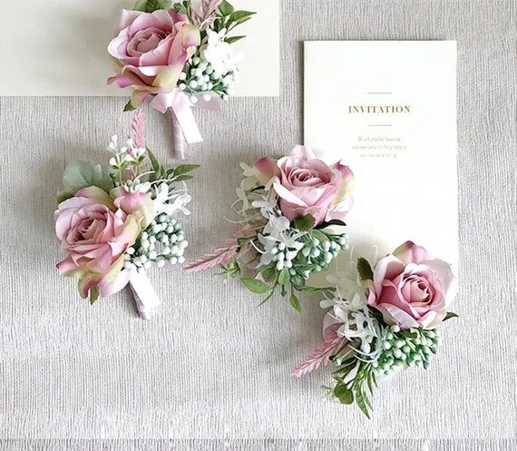 Mauve Wedding Bouquet, Bridal Bouquet, White, Pink, Dusty Rose Wedding Bouquet, Bridal Bouquet, Peonies, Bride, Bridesmaids, Silk #silkbridalbouquet
