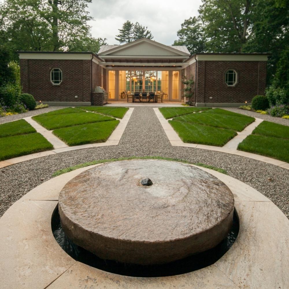 Patio Furniture Ridgefield Ct: JANICE PARKER LANDSCAPE DESIGN. Pool & Sculpture Garden