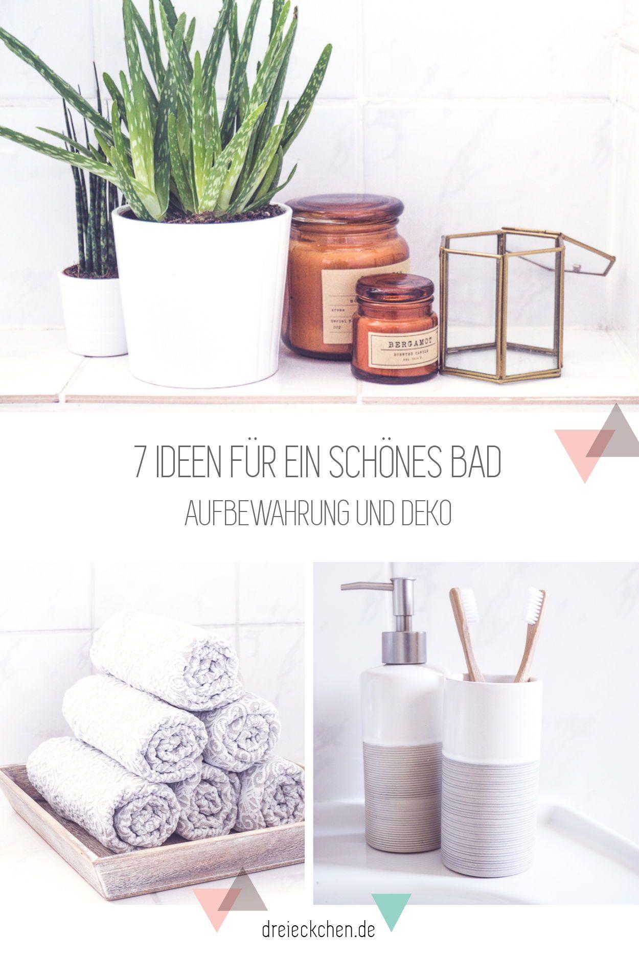 7 Ideen Fur Ein Schones Badezimmer Schone Badezimmer Kleines Bad Dekorieren Wohnung Badezimmer Dekoration