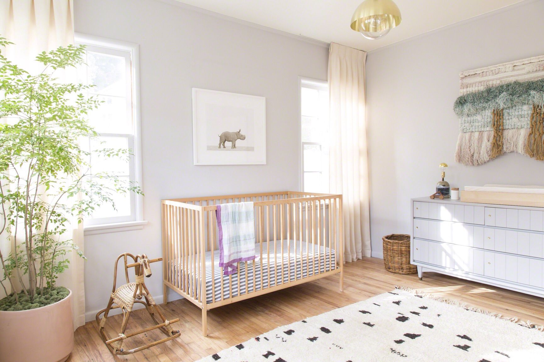 cribs solid size crib bedroom non changing of sniglar in light wooden baby usa ikea made wood toxic table full finish natural
