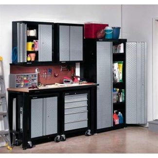 Stack On Gladiator Cadet Set Garage Cabinet Kit