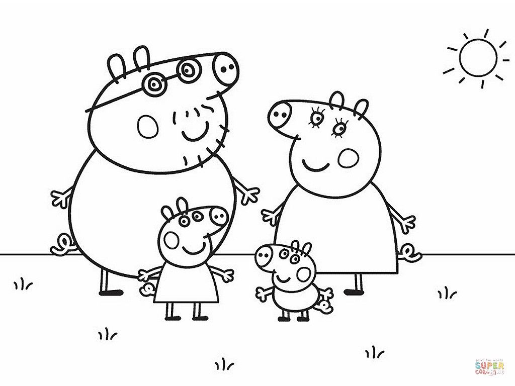 Peppa Pig Family And Friends Coloring Pages From The Thousand Photographs Online With Rega Peppa Pig Coloring Pages Family Coloring Pages Peppa Pig Colouring