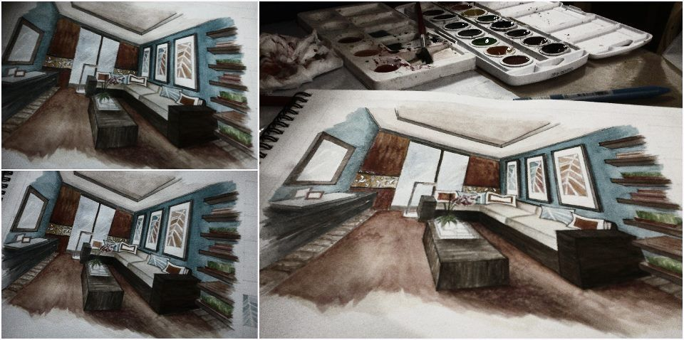 water color painting :))