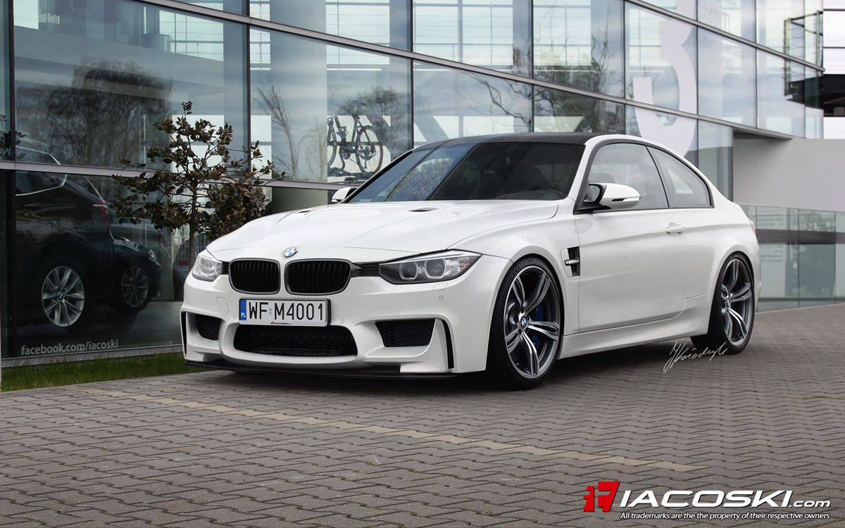 BMW MM Coupe F Speculative Render By Iacoski Walid - Bmw 2014 m3