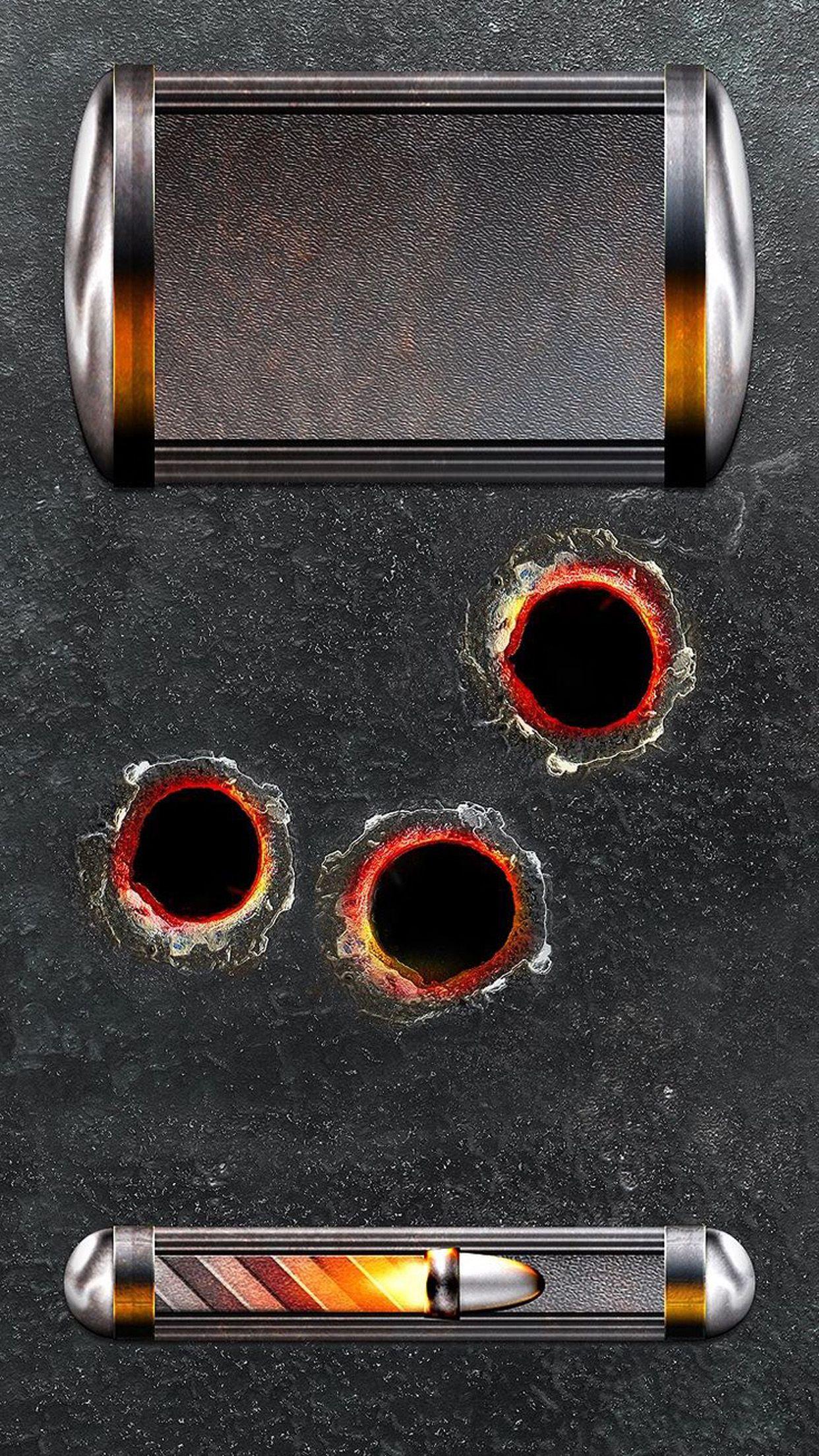 ↑↑TAP AND GET THE FREE APP Lockscreens Art Shot Bullet Black Fire