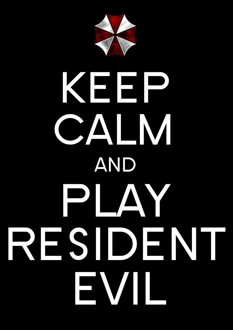 Keep calm and biohazard on keep calm and carry on image generator - Play Resident Evil Resident Evilkeep Calm