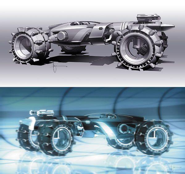 Tron Legacy Vehicle Design With Daniel Simon Car Design