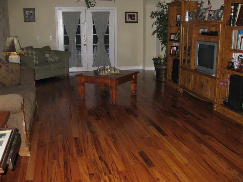 Brazilian Koa Table With Wood Flooring Flooring Options Best Flooring Wood Floors