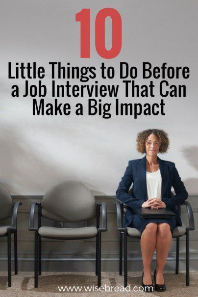 10 Little Things to Do Before a Job Interview That Can Make a Big Impact - Job interview, Job interview advice, Interview advice, Job interview tips, Job interview questions, Interview help - The little things count, especially during a job interview  These are interviewbusting details you don't want to overlook