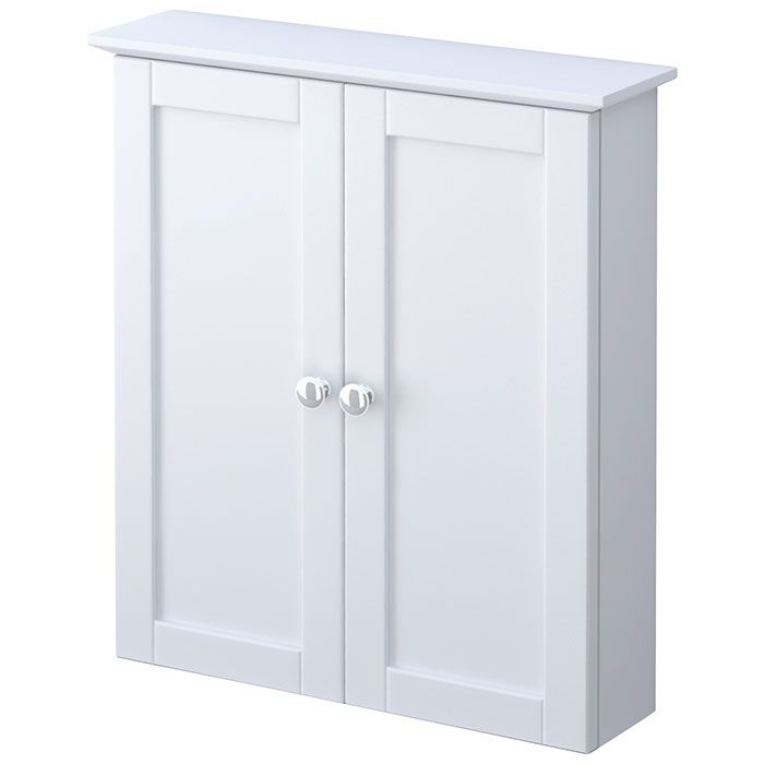 Marvelous White Bathroom Wall Cabinet