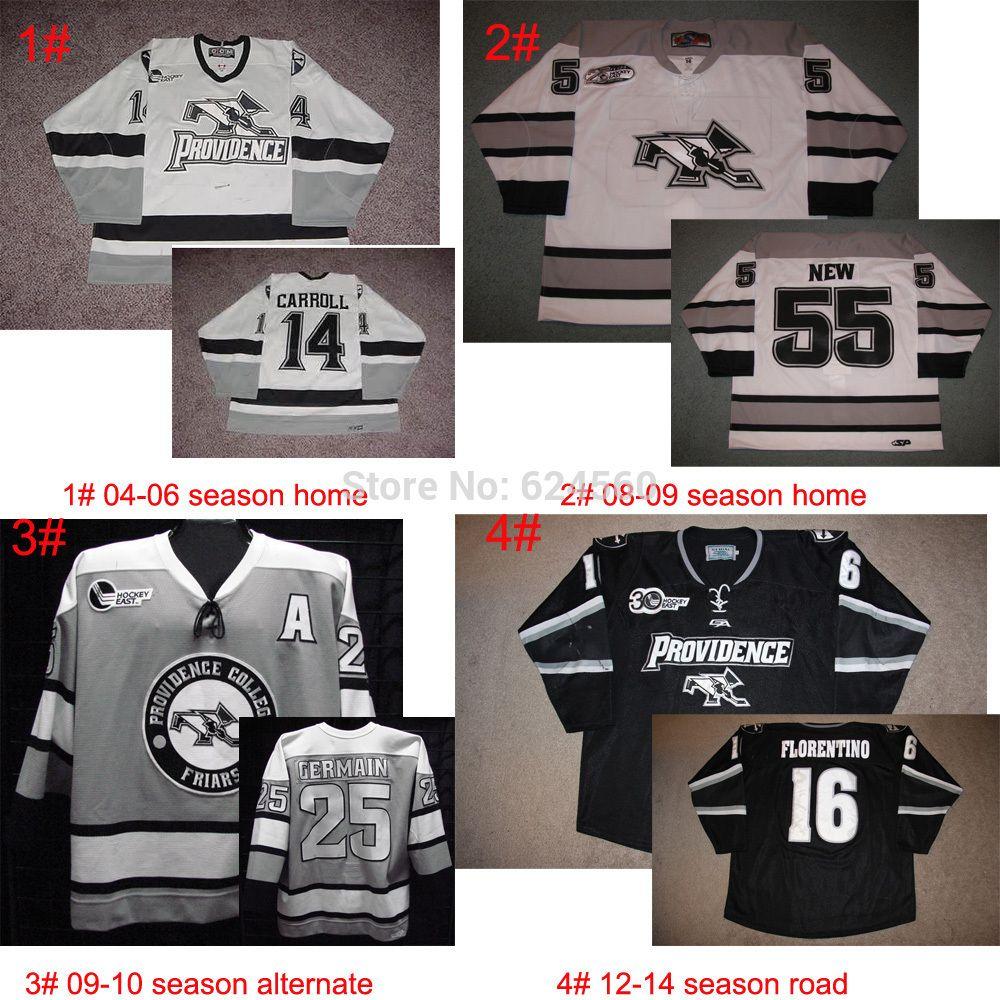 Aliexpress Com Buy Custom Personality Providence College Friars Hockey Jersey Home Road Third Jersey Pls T Hockey Jersey Providence College Ice Hockey Jersey