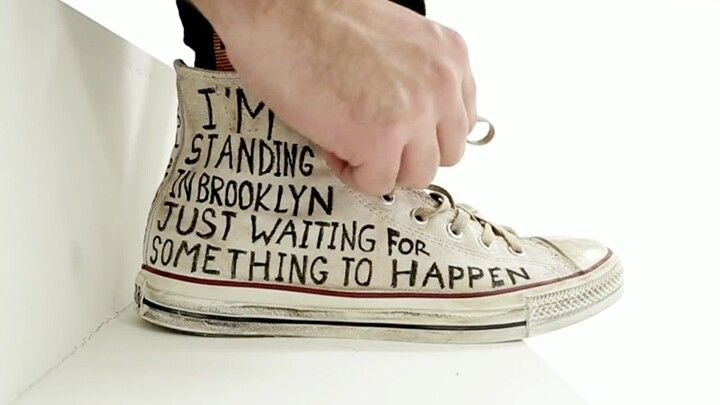 Cool converse words on side quote (With images) | Diy ...