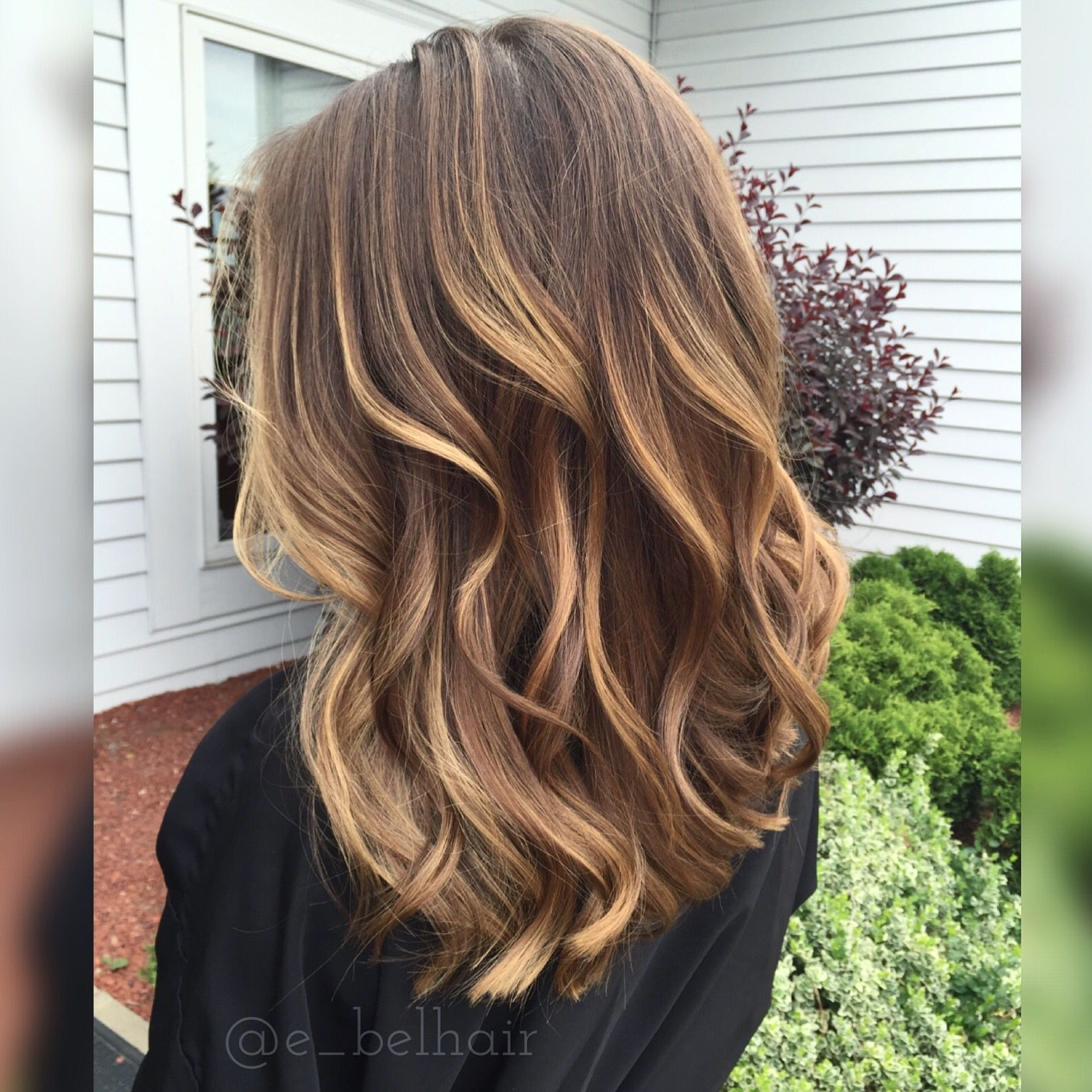 Soft Honey Balayage Hair Pinte