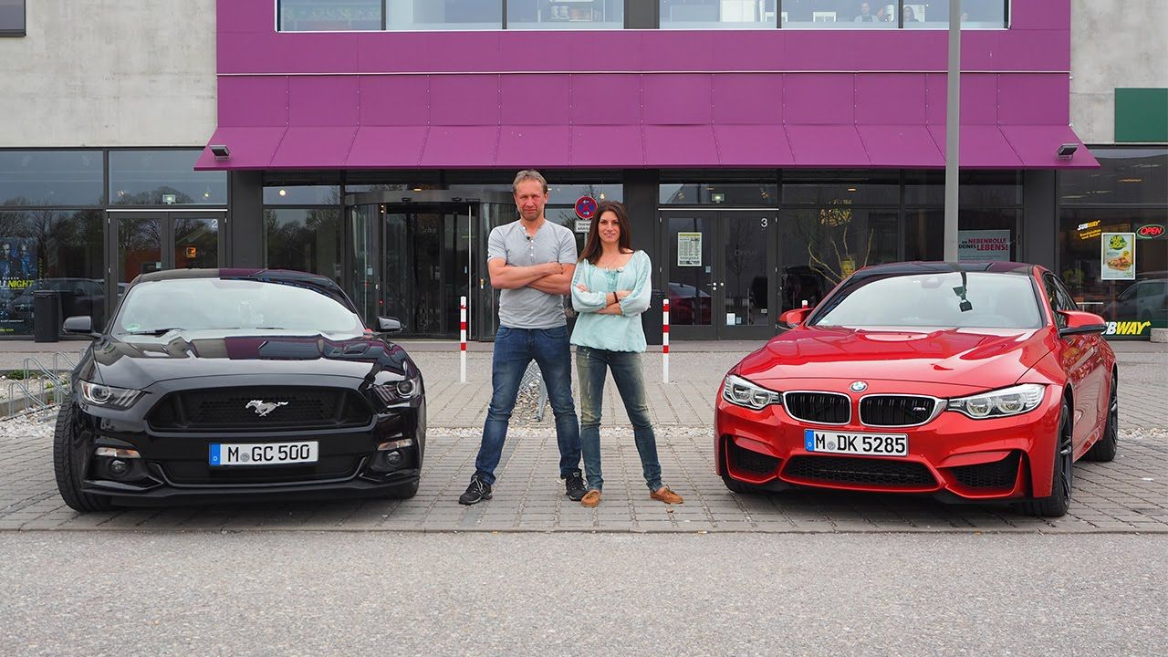 Bmw m4 coupé vs ford mustang fastback grip folge 319 rtl 2