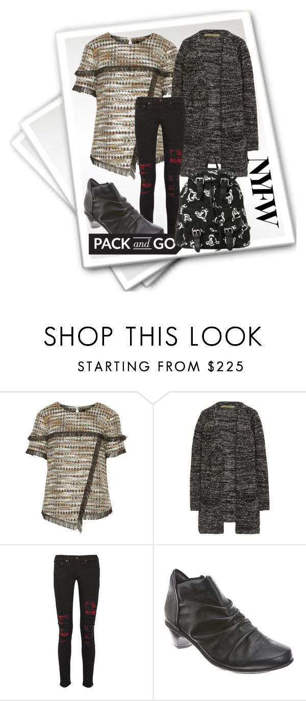 """""""nyfw-pack and go! 2"""" by peeweevaaz ❤ liked on Polyvore featuring Raoul, Enza Costa, rag & bone, Naot, women's clothing, women, female, woman, misses and juniors"""