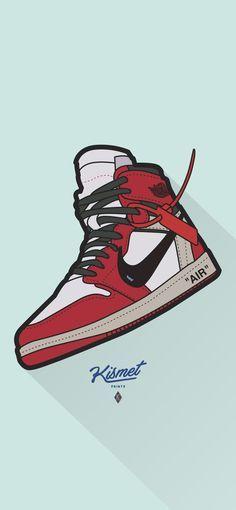 JORDAN DIGITAL PRINT - Nike, Air Jordan, Off White, Supreme, Adidas, Jordan Decor, Gift for him, Nike Decor, Sneaker Art, Sneaker Print