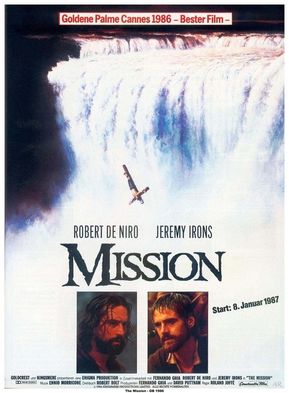 The Mission, Roland Joffé (1986) Movie posters, Movies