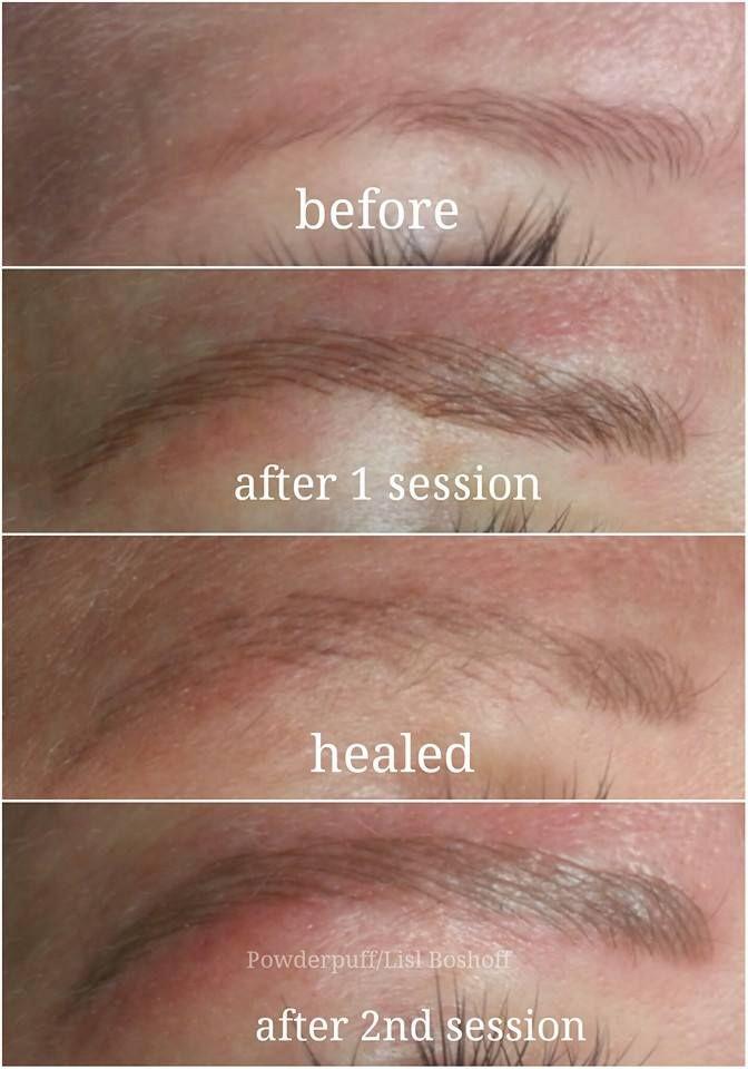 Ultra natural microblade eyebrow tattoo - by #lislboshoff ...