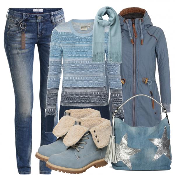 Herbst-Outfits: LightBlue bei FrauenOutfits.de