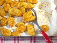 Kartoffelscheiben aus dem Ofen #kartoffeleckenrezept