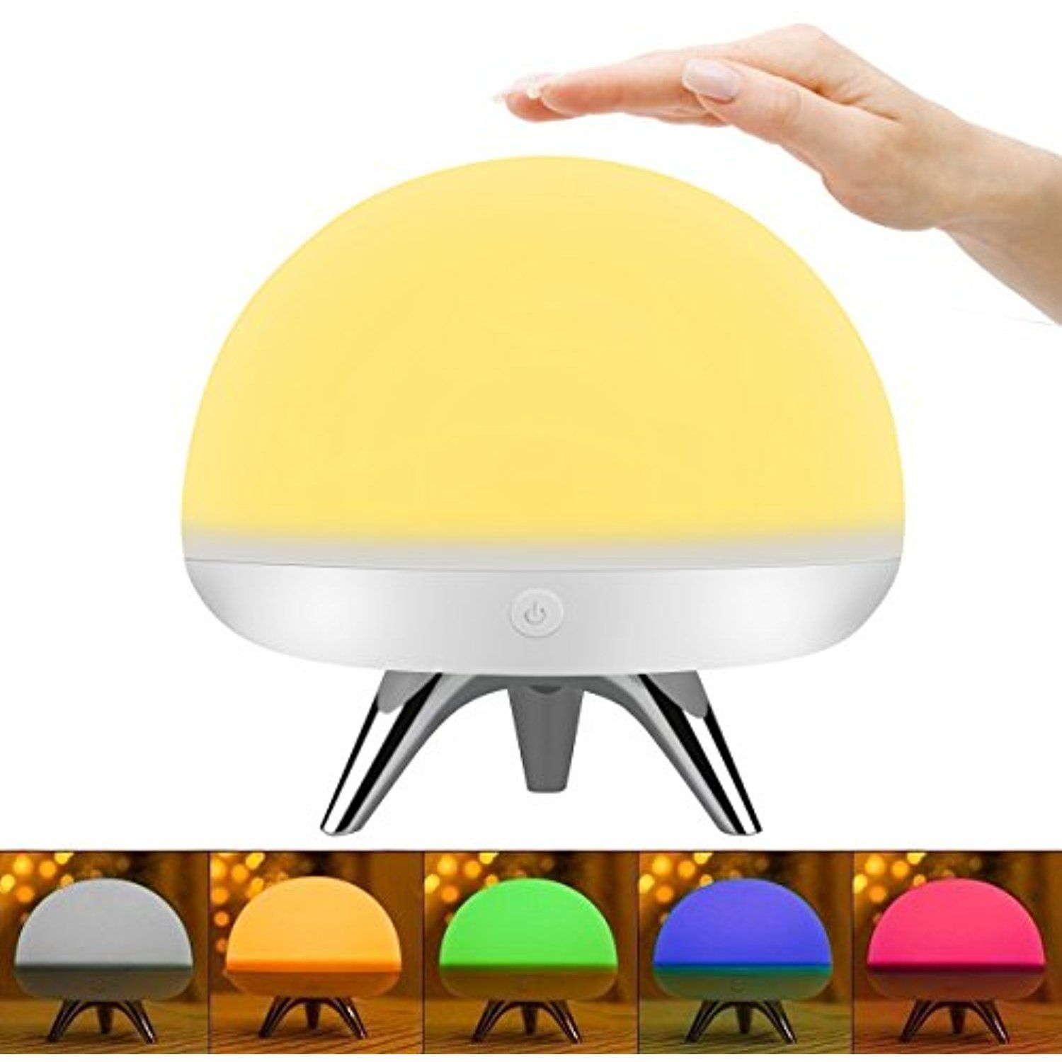 Intsun Children Kids Night Light Led Silicone Toy Nightlight Baby Rooms Nursery Lamps Bedroom Touch Sensor Table L Night Light Kids Nursery Lamp Night Light