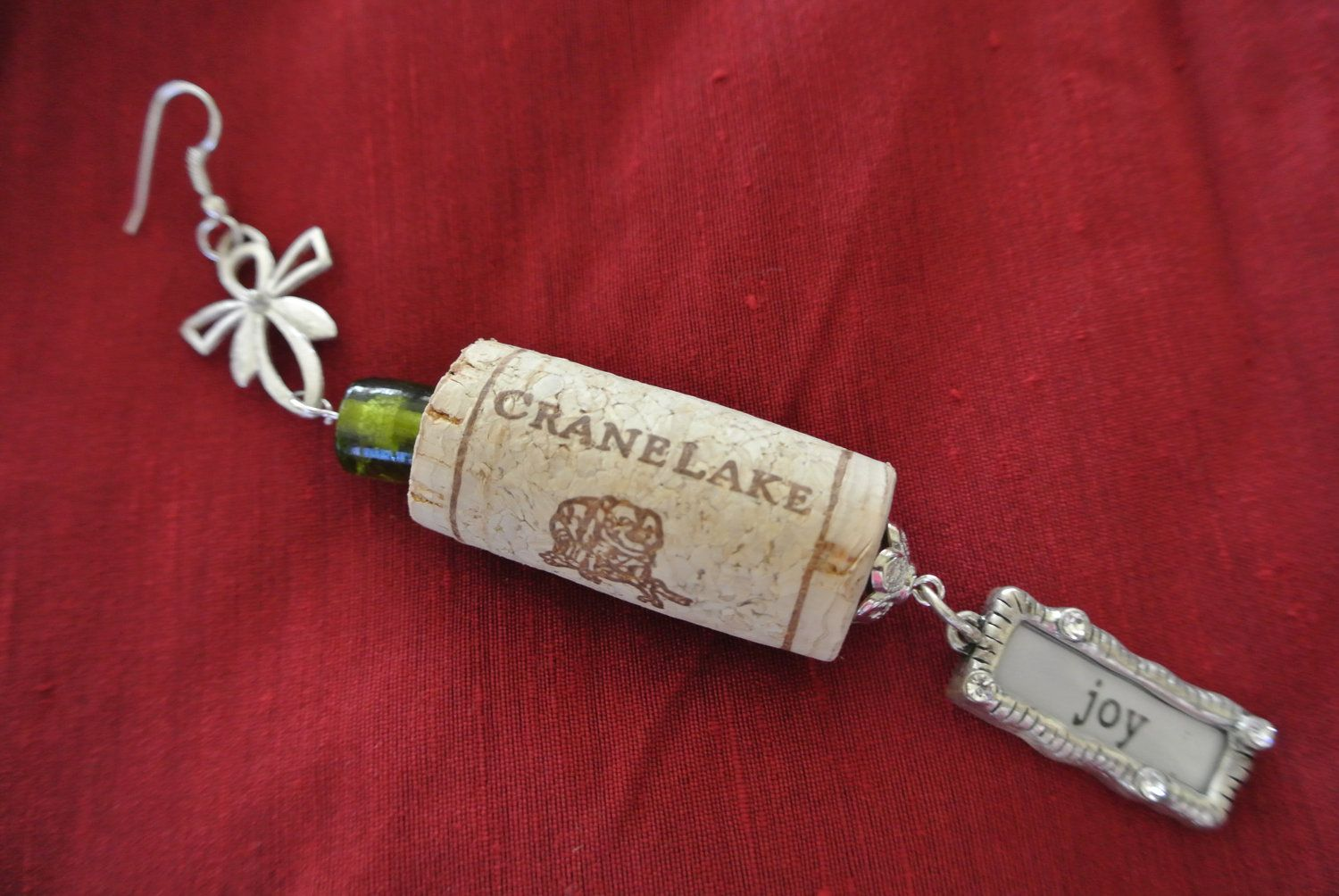 Your Place To Buy And Sell All Things Handmade Wine Cork Jewelry Holiday Wine Cork Jewelry