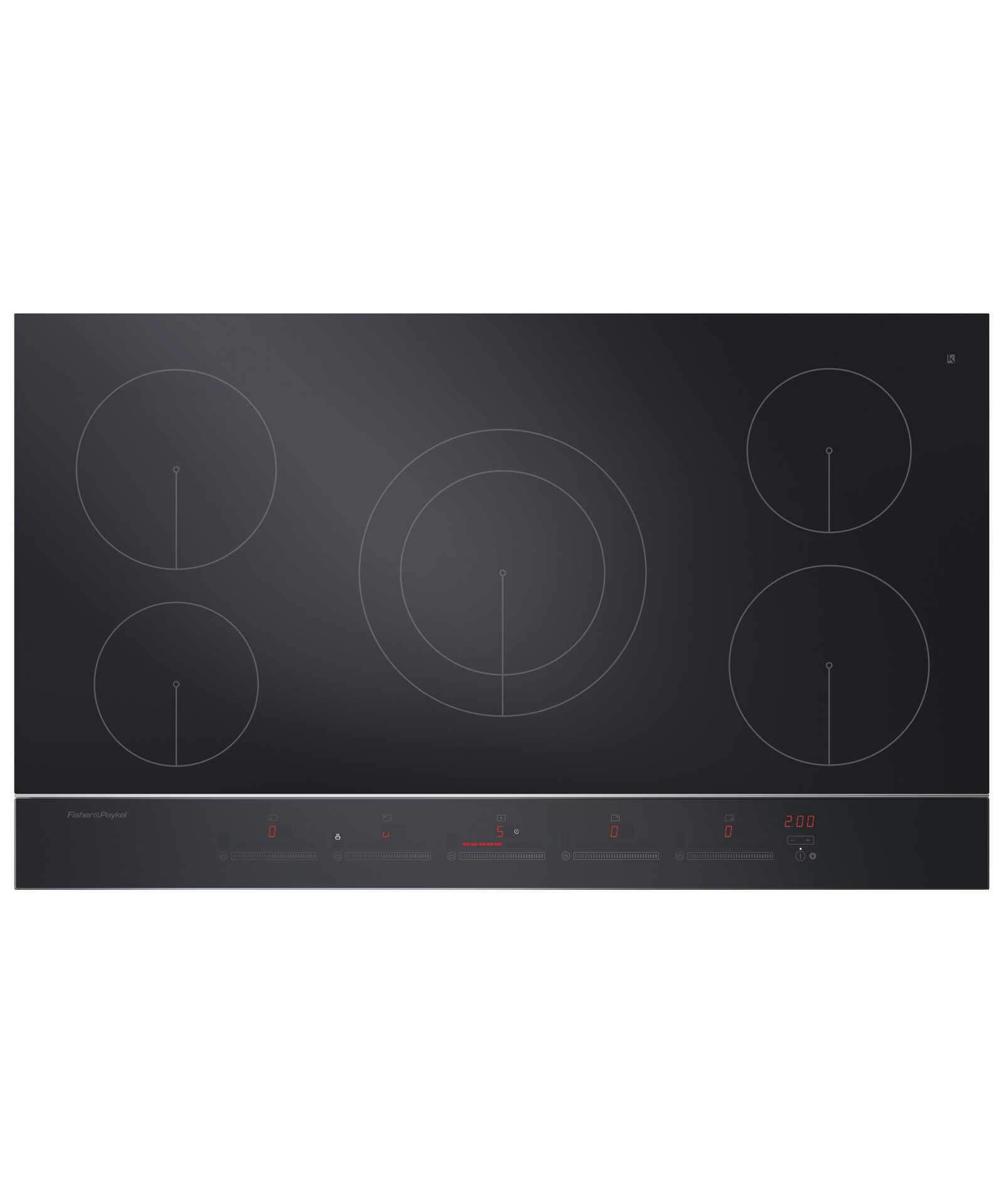 Fisher Paykel Ci365dtb2 36 5 Zone Touch Slide Induction Cooktop 81036 Induction Cooktop Cooktop Induction