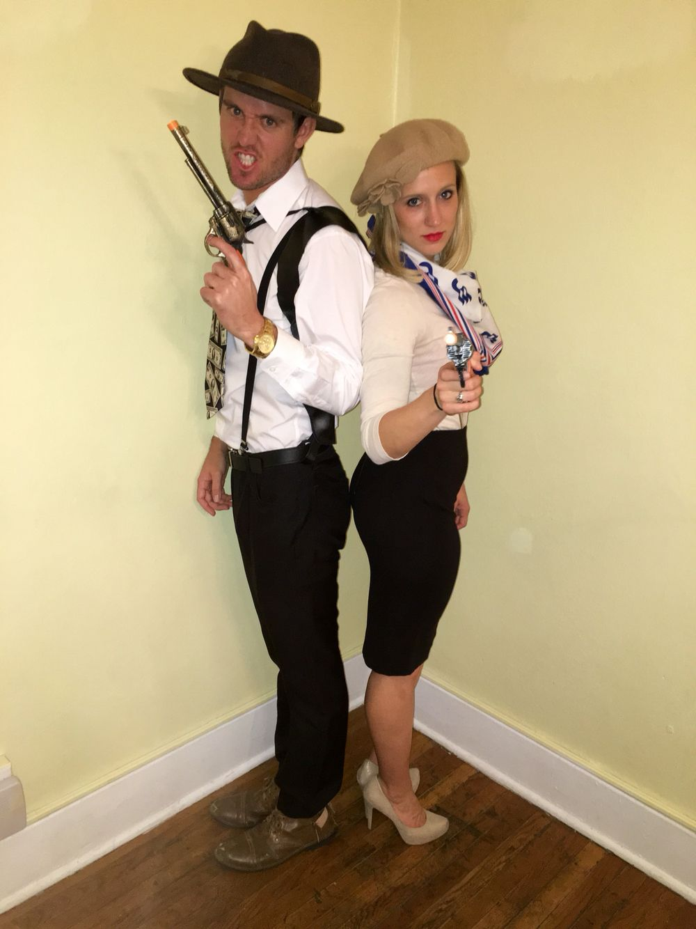 Bonnie And Clyde Costume Purim In 2019
