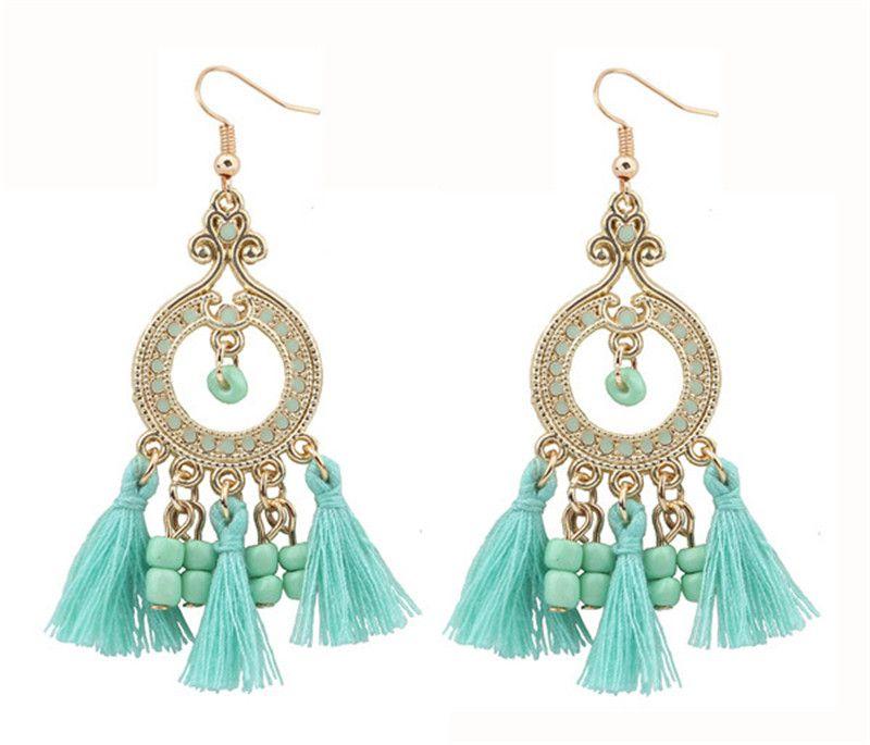 Fashion Earring Designs New Model Earrings Bohemia Style Metal ...