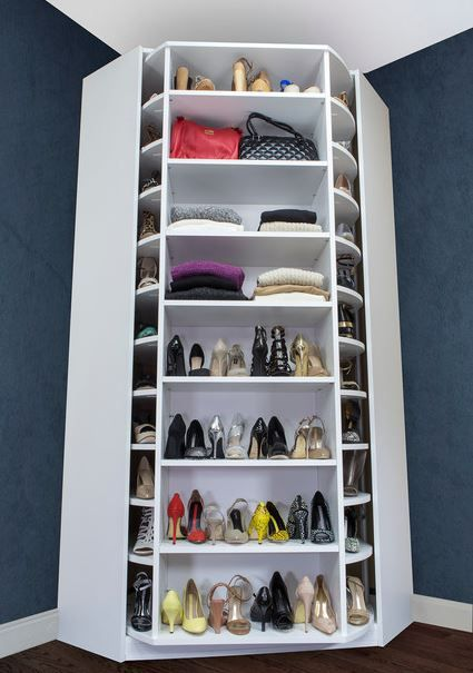 I Am Officially Over Obsessed With This Rotating Closet!