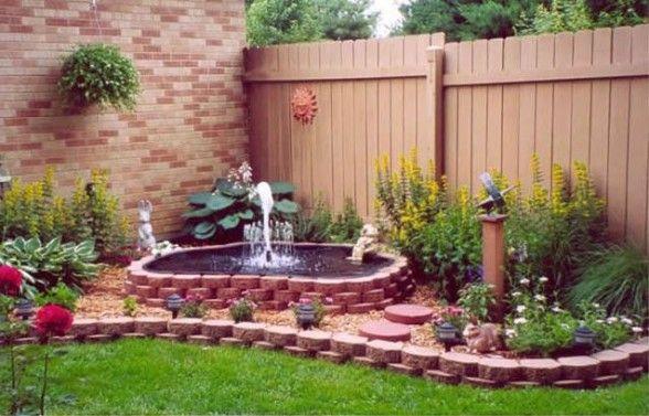 fuente de agua jardin ideas casa pinterest fuente de agua agua y jardn