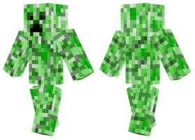 Minecraft Skins Creeper Skin Png Image With Transparent Background Png Free Png Images Minecraft Skins Creeper Minecraft Skins Creeper Minecraft