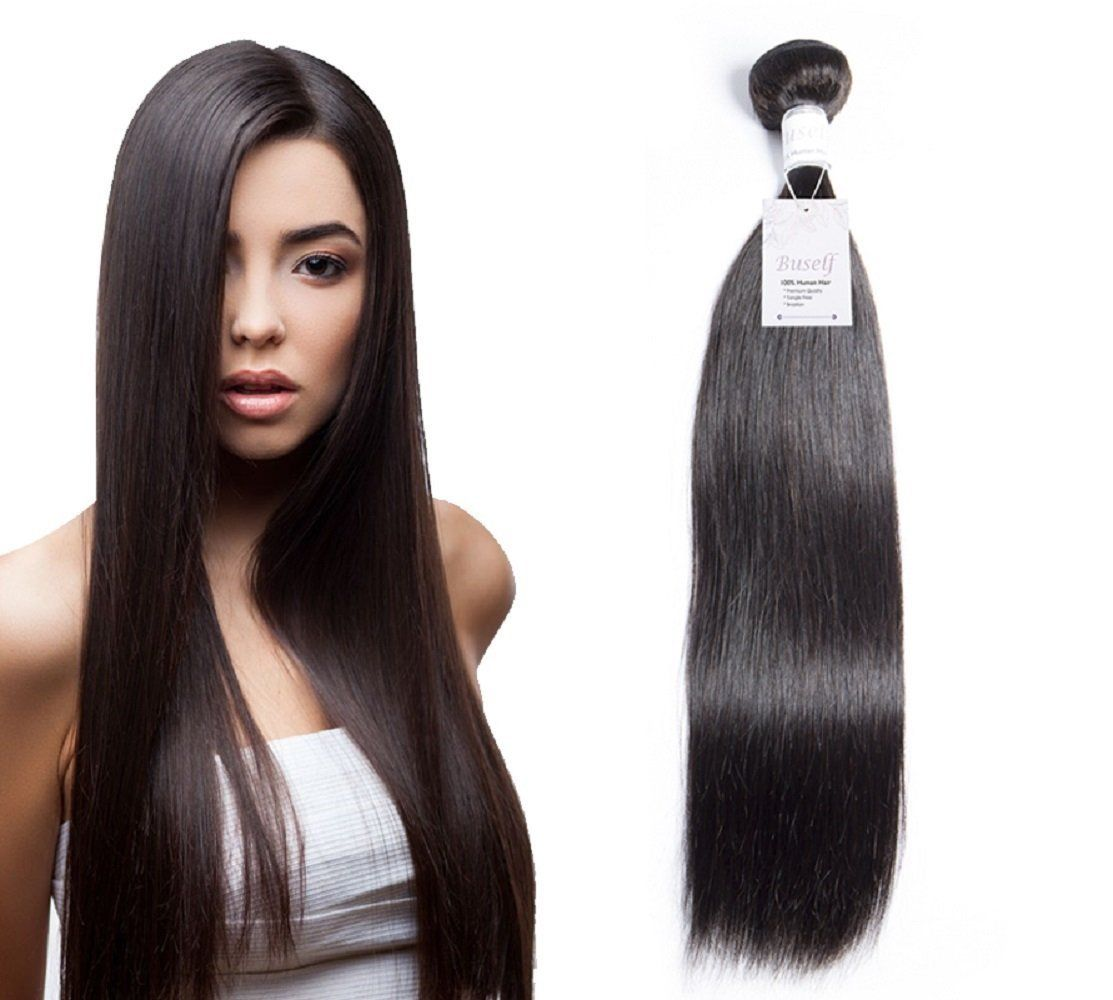 Brazilian Virgin Hair Straight 28 Inch Virgin Human Hair Weave