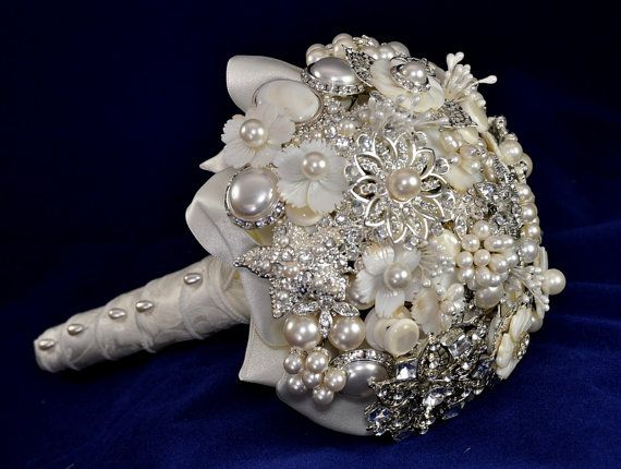 Broach bouquet. Love.                                                       …